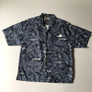 Tommy Bahama Size XL Silk 🌴 Short Sleeve Shirt